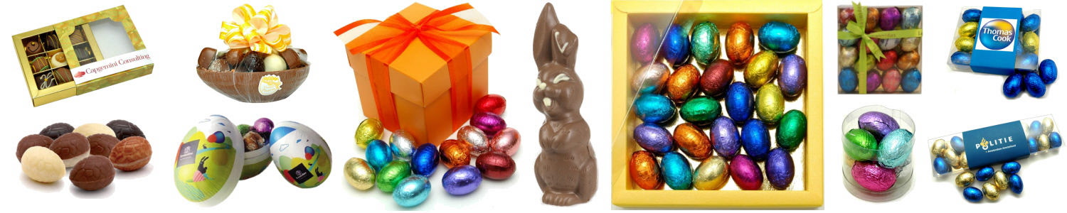 Chocolade items Pasen