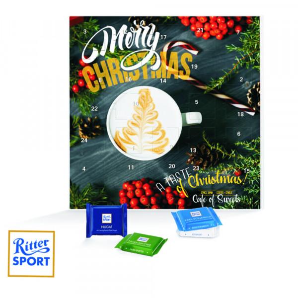 Weihnachtskalender Büro.Ritter Sport Buro Adventskalender Met 24 Chocolaatjes